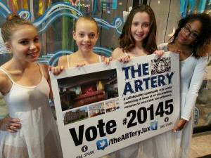 ARTery dance students